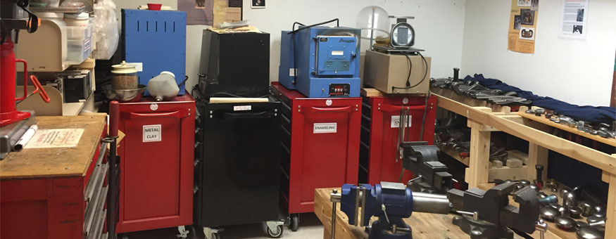 Lots of Tools in our Forming/Storage Room