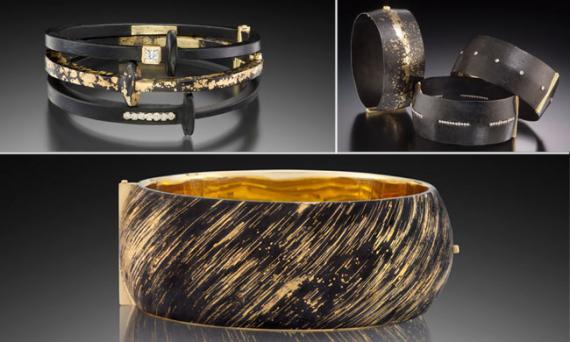 Bracelets by Pat Flynn<br>Photo credit: Hap Sakwa