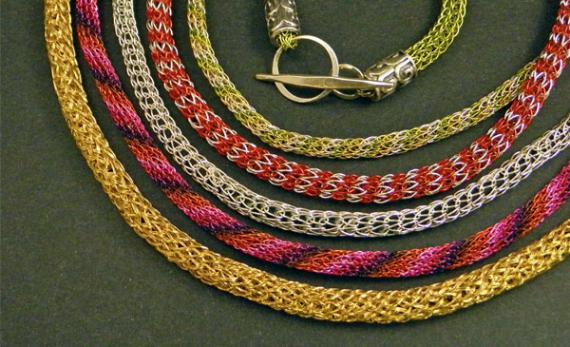 Viking Knit Chains by Joy Raskin